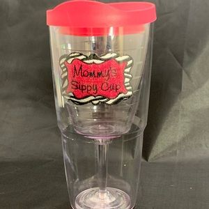 TERVIS TUMBLER WINE GLASS W LID